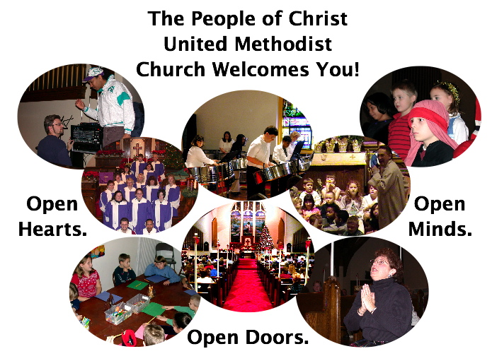 Welcome To Christ United Methodist Church Picture