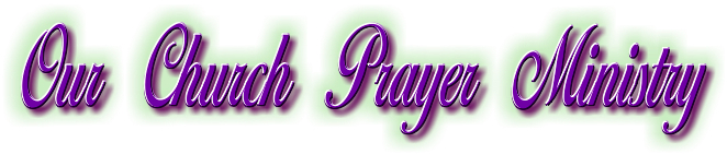 Prayer Ministry Title